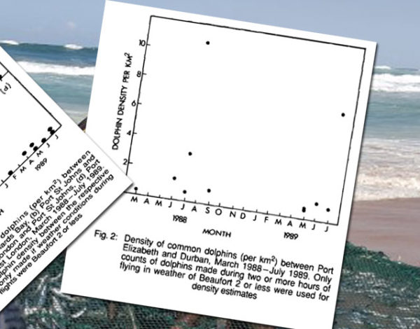 Seasonal distribution and density of common dolphins Delphinus delphis off the south-east coast of southern Africa
