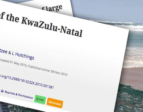 Overview of the KwaZulu-Natal sardine run